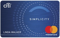 Low Interest Credit Card: Citi Simplicity